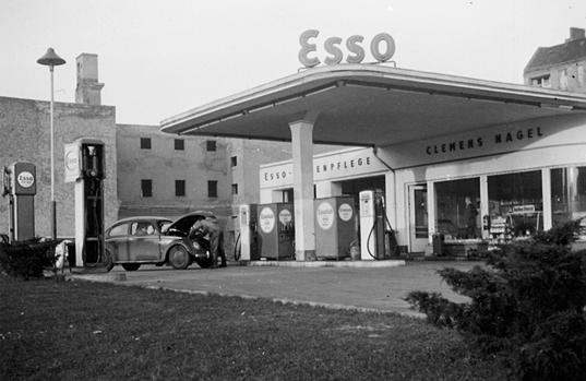 Tankstelle - Nagel Autovermietung Berlin